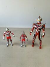 Ultraman Bandai 3-Lot action figures