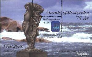 Finland - Aland Blok 3 (compleet.Kwestie.) First Day Cover 1997 Zelf