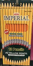 Imperial Yellow Pencil Set Pack Of 12 Yellow #2 Pencils