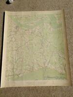 22x29 1921 USGS Topo Map Manning, South Carolina Santee River Wilson Pocotaligo