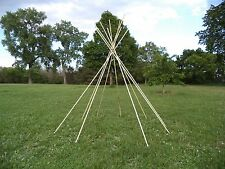 POLES for a 6 foot / 2 meter tipi