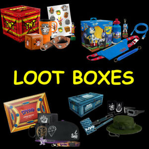 Range of Gaming Loot Crate Big Box Boxes Limited Edition Officially Licensed NEW