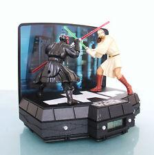 CLOCK STAR WARS Alarm Rare MOTION! ANIMATED! TOP Lucasfilm ZR18870 Lights Sound