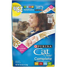 New listing Purina Cat Chow Complete (25 lbs.) New
