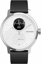 Withings ScanWatch Hybrid Smartwatch with ECG, Heart Rate & Oximeter 42mm White