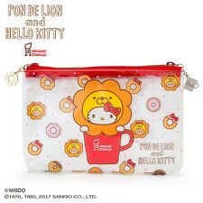 Pen Case Pencil Pouch PVC Pon de Lion Hello Kitty Mister Donut Sanrio Japan