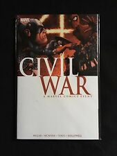 CIVIL WAR TPB Marvel Mark Miller Steve McNiven 1 2 3 4 5 6 7 Near Mint Mint 9.8