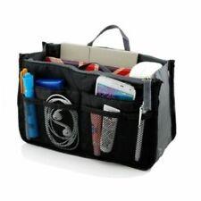 Go Beyond TM Makeup Organizer Bag Travel Compartment Handbag With 13 Inserts
