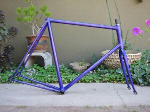 Vintage Cyclocross Bike Frame set Steel is real Reynolds 531