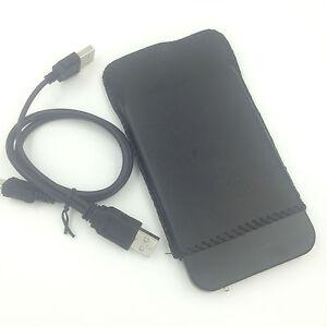 """New 750GB 750 GB External Portable 2.5"""" USB 2.0 Hard Drive HDD POCKET SIZE BLACK"""