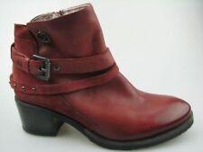 Stivali e stivaletti da donna anfibi, scarponcini con tacco medio (3,9-7 cm) con cerniera