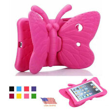"""For iPad 7th Gen 10.2"""" Kids Shockproof Guard Butterfly EVA Foam Case Stand Cover"""