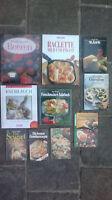 10 Titel fleischlos Kochen, vegetarisch, Salate, Gemüse, Käse, Knoblauch Spargel
