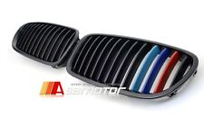 BMW F10 F11 Saloon Touring Glossy Black M-Color Front Kidney Hood Grill Grilles