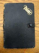 1910 Daimler Owner's Operator's Owners Manual Handbook