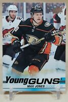 Max Jones Young Guns 2019-20 Upper Deck Rookie RC Anaheim Ducks