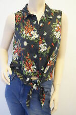 Collared Floral Topshop for Women