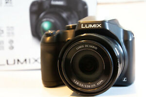Panasonic Lumix FZ80 18.1MP Digital Camera - Black (Kit with DC Vario 20-1200mm)