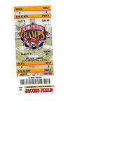 1 Cleveland Indian ticket May 23, 1999 Omar Vizquel walkoff grand slam in the 9t