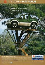 Publicité Advertising 2003  SUZUKI VITARA 1.6 JLX