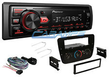 PIONEER BLUETOOTH CAR STEREO DIGITAL MEDIA RADIO & AUX/USB INPUT W/ INSTALL KIT