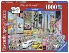 RAVENSBURGER PUZZLE CITIES OF THE WORLD NEW YORK BY FLEROUX 1000 PCS #19732