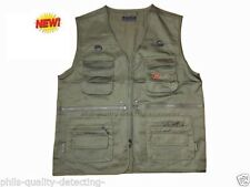 Cotton Blend Patternless Casual Waistcoats for Men