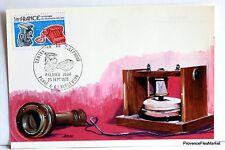 Yt 1905 INVENTION DU TELEPHONE  1976   FRANCE CARTE MAXIMUM 1° JOUR FCP
