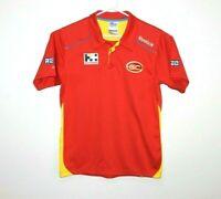 Reebok Gold Coast Suns AFL Media Polo Shirt Size Men's Medium