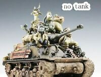 1/35 Resin US Animals Tankers Fury 5 Soldiers unpainted unassembled BL928