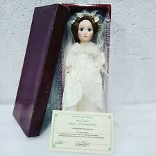 The Danbury Mint Abigail A Colonial Bride Doll Vintage