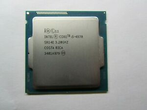 Intel Core i5-4570 3.2GHz/6MB Quad-Core 4th Gen. Processor  LGA 1150/Socket H3