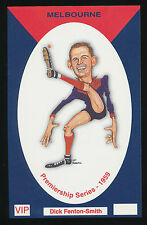 1959 Melbourne Dick Fenton Smith Premiership card from Limited Edition Set