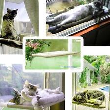 Kitty Kitten Window Mounted Basking Bed Pet Shelf Cat Perch Seat High Hammock MT