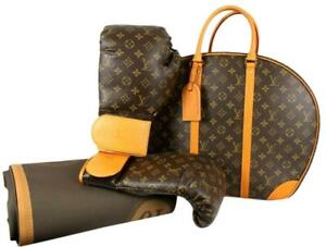 Louis Vuitton Karl Lagerfeld Ultra Rare Limited Monogram Boxing Glove Set 859629