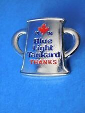 BLUE LIGHT BEER TANKARD 1994 CURLING PIN VINTAGE FAN SOUVENIR COLLECTOR BUTTON