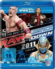 WWE Wrestling - Best of RAW and Smack Down 2011 (3 Blu-ray Discs)