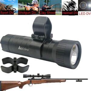Gun Camera Helmet Bullet Sport Action Rifle Hunting Cam Waterproof For Shortgun