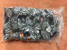 TY Beanie Baby Ziggy, 1 Dozen Wholesale Lot, NEW, PE Pellets, Indonesia, MWMT