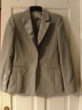 GREY JACKET BY WAREHOUSE, SIZE 14