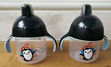 Philips Avent My Penguin Sippy Cup 270ml, Black, Bundle / 2 Cups