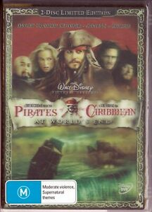 Pirates Of The Caribbean: At World's End - DVD 2 Discs R4 ( HOLOGRAM COVER)