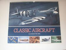 Classic Aircraft Calendar 1996 12 different aircraft mostly WWII