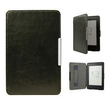 Ultra Slim Smart Magnetic Leather Shell Case Smart Cover Strap For Kindle Voyage