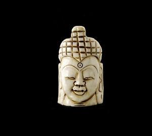 -kopf Buddha Tibetischer Artwork Unikat Figürchen Schamanische D