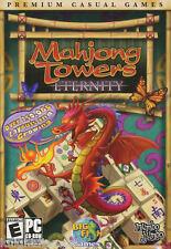 MAHJONG TOWERS ETERNITY Puzzle Mah Jong PC Game NEW BOX