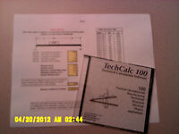 TechCalc includes 100 Technical Calculations for Designers  (one user)