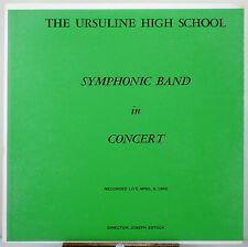 33 RPM LP - ASR-5365 - 1965 URSULINE H.S. YOUNGSTOWN, OHIO - SYMPHONIC BAND
