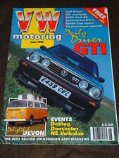 VW MOTORING - DELIGHTFUL DEVON CAMPER - June 1996