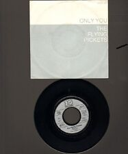 "FLYING PICKETS Only You 7"" SINGLE 1983 Disco Down"